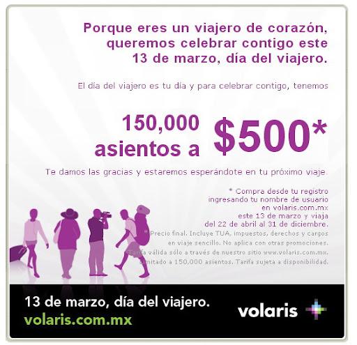 Volaris.com oferta de boletos
